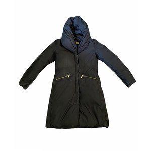 Michael Kors Long Black Down Coat